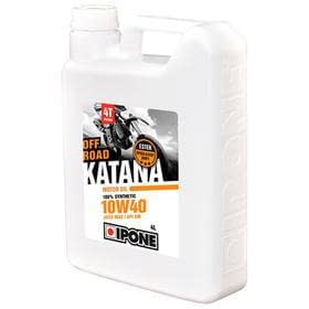 Масло IPONE 4T OFF ROAD KATANA 10W40 4L